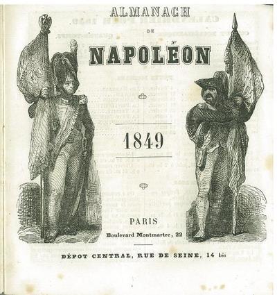 Almanach de Napoléon 1849