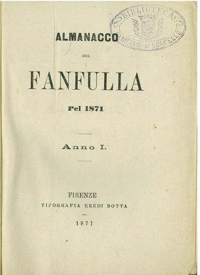 Almanacco del Fanfulla pel 1871