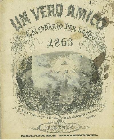Un vero amico : calendario per l' anno 1863