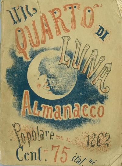 Un quarto di luna : almanacco popolare pel 1862
