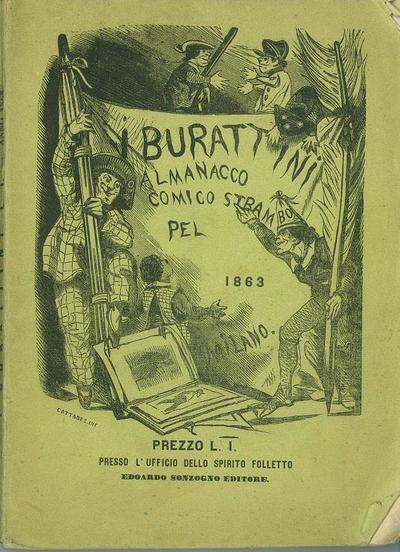I burattini : almanacco comico-originale -bizzarro-strambo per l'anno 1863