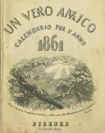 Un vero amico : calendario per l'anno 1861