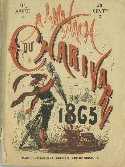 Almanach Charivari pour 1865