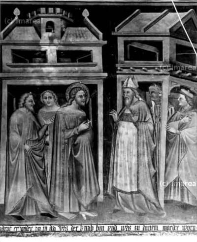 Hl. Johannes Evangelist erfährt von Bischof, dass der bekehrte Jüngling von Gott abgefallen ist