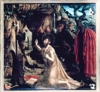 Hl. Hieronymus in der Wüste