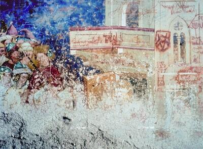 Kaiserin Faustina besucht die Hl. Katharina im Gefängnis
