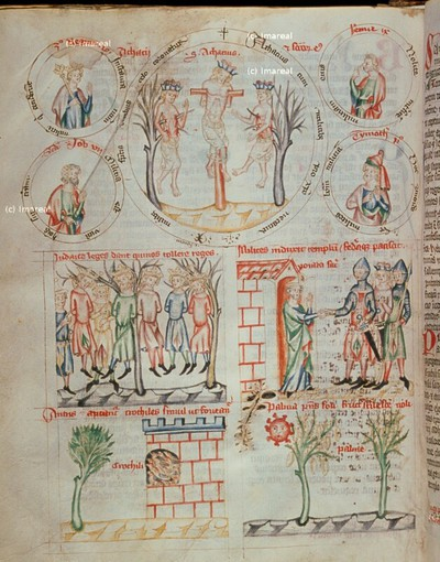 Josua lässt fünf kananäische Könige aufhängen