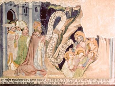 Besuch des Kaisers Theodosius