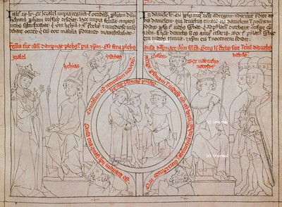 Babylonier fordern den Tod Daniels