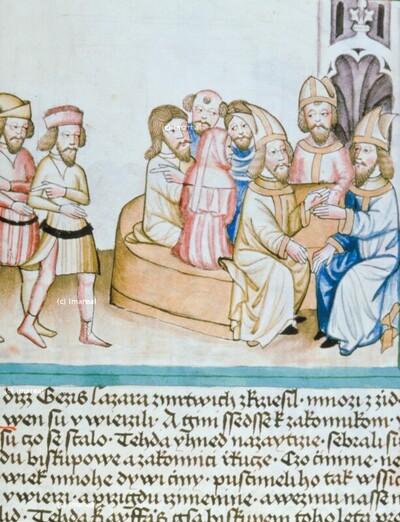 Hohepriester beschließen den Tod Christi