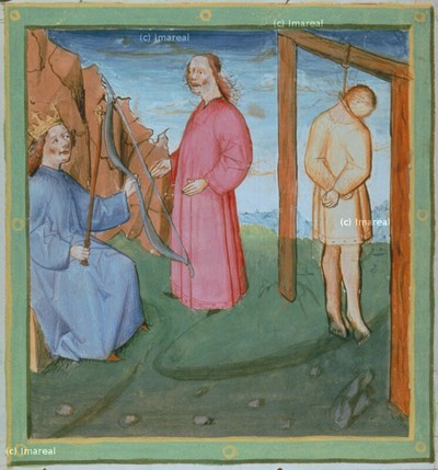 Bote überbringt David die Nachricht von Sauls Tod