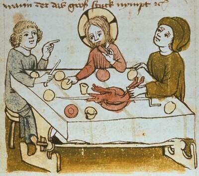 Mahl in Emmaus