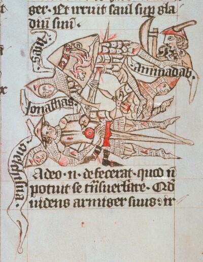 Tod Sauls und seiner Söhne in den Bergen von Gelboe