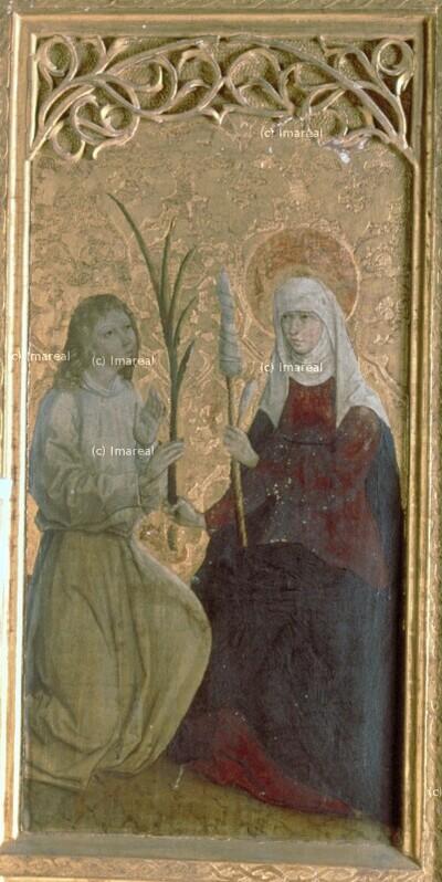 Engel verkündet Hl. Maria ihren Tod