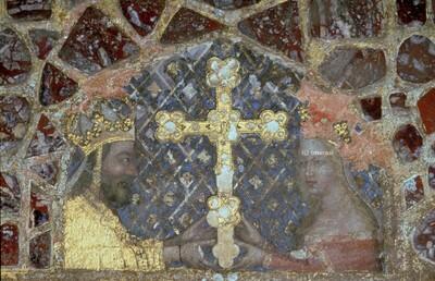 Kaiser Karl IV. und Anna von Schweidnitz