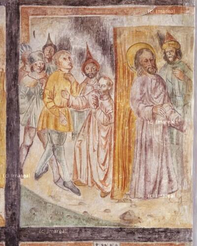 Christus wird ins Haus des Pilatus geführt