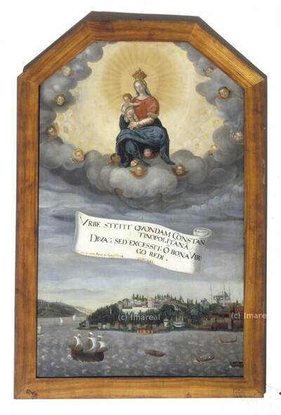 Ankunft des Freiherrn Hans Ludwig von Kuefstein in Konstantinopel 1628