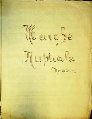 Marche Nuptiale: Allegro Vivace