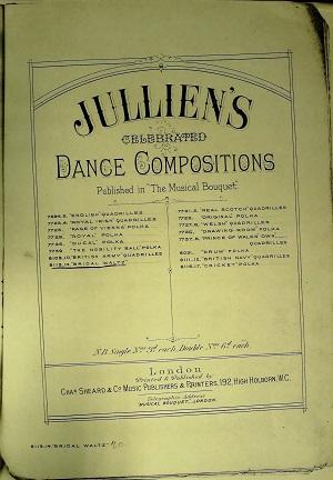 Hermilie or The Bridal Valse: Dance composotions