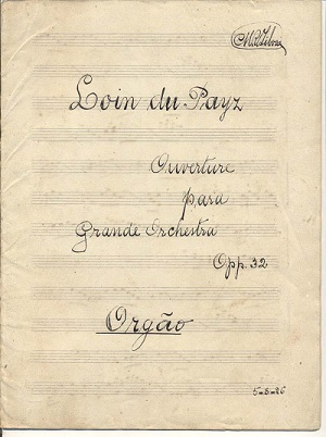 Loin du Pays: Ouverture para Grande Orchestra, Opp. 32