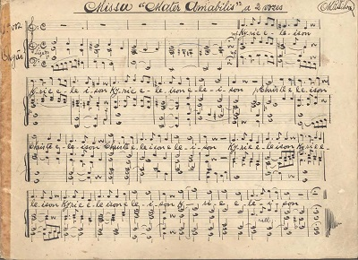 Missa Mater Amabilis: duas vozes