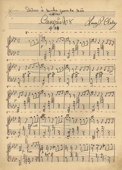 Canção n.º 8: Op. 34