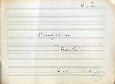 Antiphona a São Pedro
