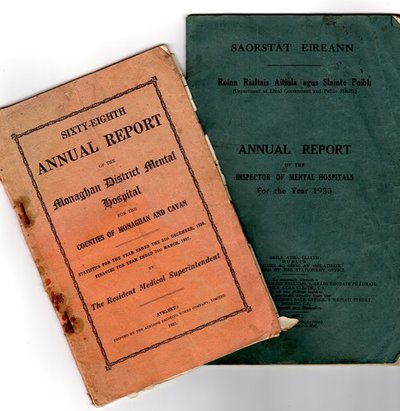 World Within Walls organisational documents: Annual reports 1933 and 1937