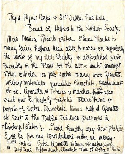 Handwritten press appeal (draft) DCLA/RDFA1.09.146 by Monica Roberts