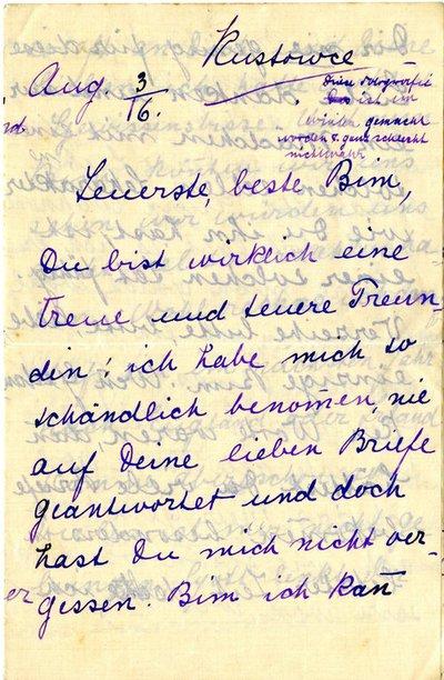 Letter DCLA/RDFA1.09.014
