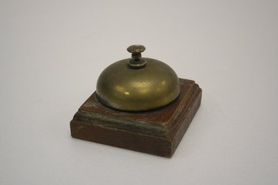 World Within Walls image collection: Brass reception bell