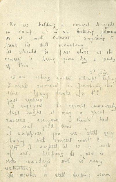Herbert Morris R.F.C. 1st July 1917