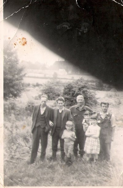 World Within Walls image collection: Image of farmyard (Burke children) of St. Davnet's in Monaghan town