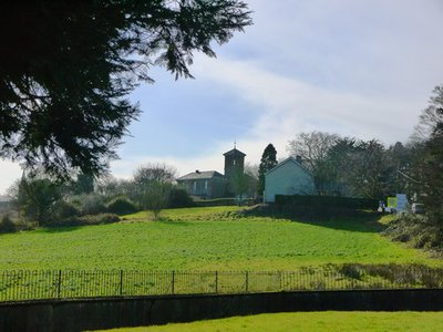 World Within Walls image collection: Image of the graveyard at  St. Davnet's in Monaghan town