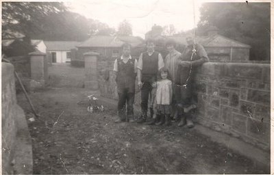 World Within Walls image collection: Image of farmyard (Rose Hughes) of St. Davnet's in Monaghan town