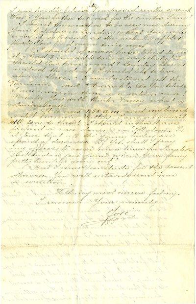 Letter DCLA/RDFA.01.08.019 from Belgian Soldier J. Verachtert to Monica Roberts