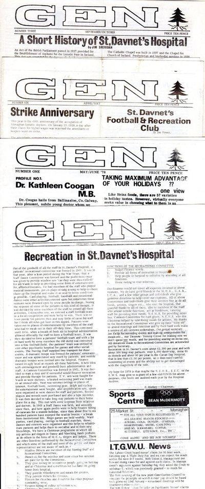 World Within Walls organisational documents: GEN magazine