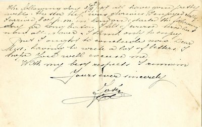 Letter DCLA/RDFA.01.08.011 from Belgian Soldier J. Verachtert to Monica Roberts