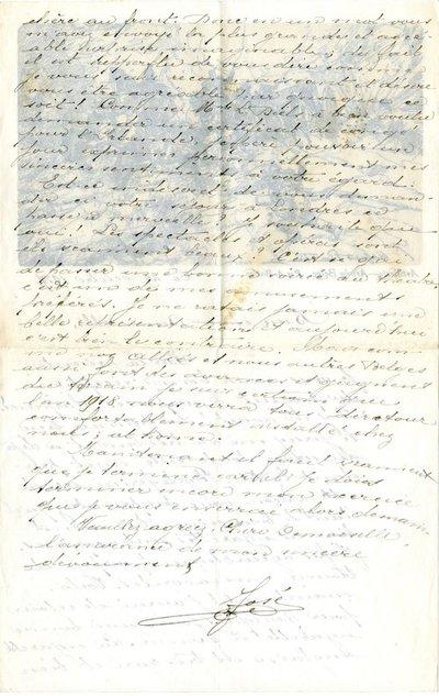 Letter DCLA/RDFA.01.08.024 from Belgian Soldier José Verachtert to Monica Roberts