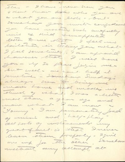 Letter DCLA/RDFA1.07.27 from Wesley Clarke to Monica Roberts