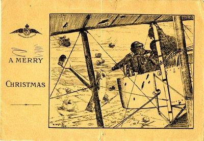 Christmas card DCLA/RDFA1.110 from G.E. Mongan to Monica Roberts