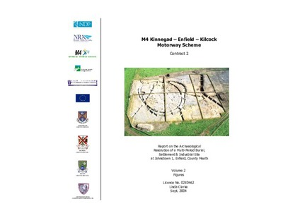 Archaeological excavation report,  02E0462 Johnstown 1 Vol 2 Figures, County Meath.