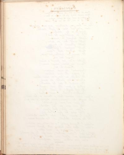 Albumbijdrage in het album amicorum van Marie Müller door Paul Colomb