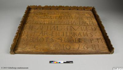 bokbräde, bräde, kyrkoinventarie , bokbräde från predikstol [enl liggare], stand, bible stand