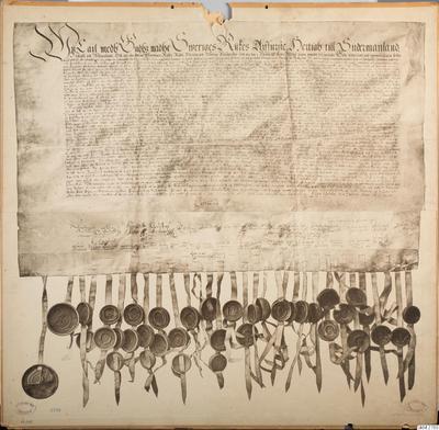 skolplansch, historia, bilder, school wallchart, wallchart, Uppsala mötes beslut  (1593), The decision of the Uppsala Synod (1593)
