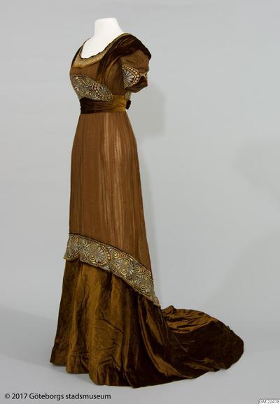 klänning, klänningar, aftonklänning
