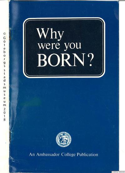 lärobok, engelska, böcker, Why were you born?