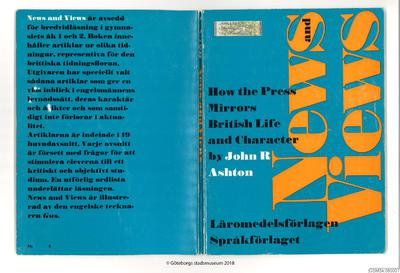 lärobok, böcker, engelska, ordlista, textbok, arbetsuppgifter, How the press mirrors British life and character, News and views