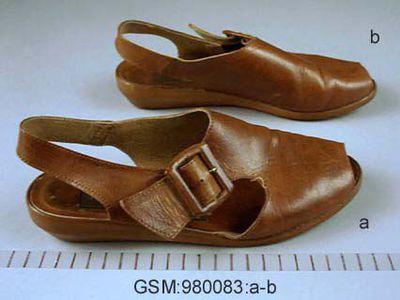 sko, skodon, sandal