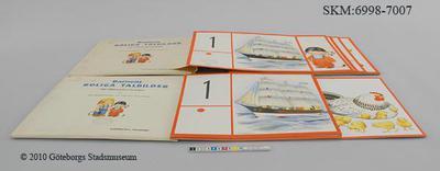 läromedel, läromedel, matematik, 1. Ett skepp kommer lastat, Barnens roliga talbilder för räkneundervisningen